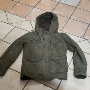 Abercrombie and Fitch Wilcox Jacket Parka Military
